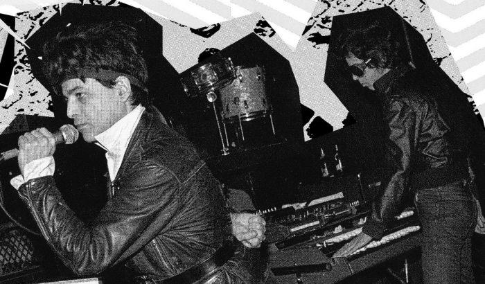 Alan Vega and Martin Rev SUICDE