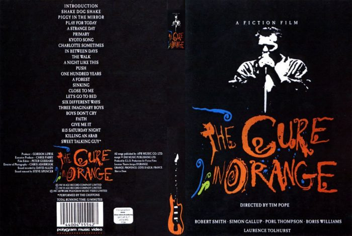 The Cure-In Orange