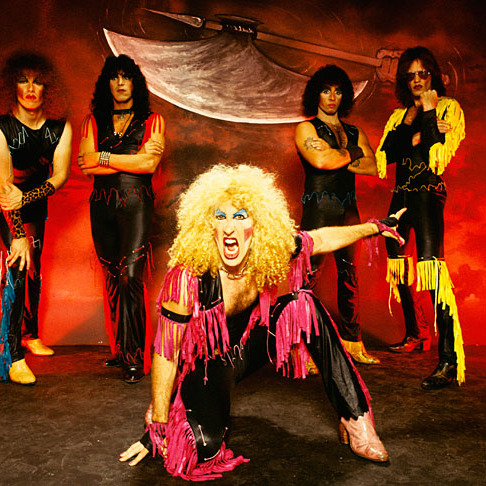 The king of androgyny itself, Dee Snider, with Twisted Sister!