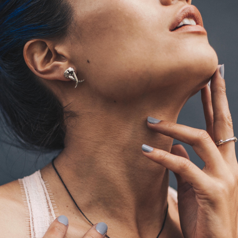 pincher-beetle-studs-birds-n-bones-jewelry
