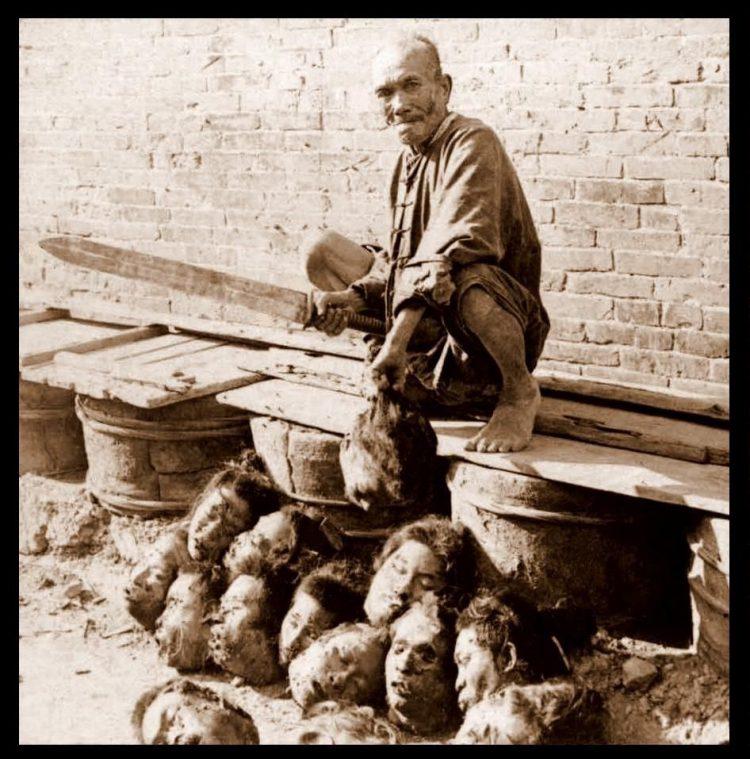 Grim & Brutal! Boxer Rebellion Execution And Torture Photos