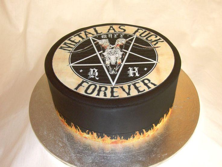 Satanic Wedding Cakes