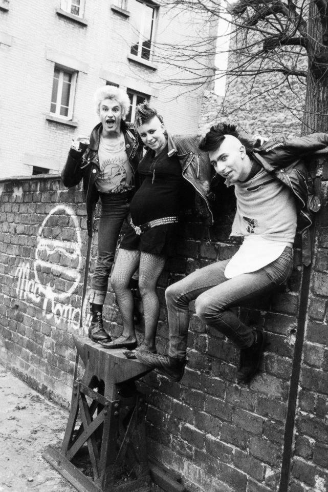 portraits of 80 u2019s french punk culture