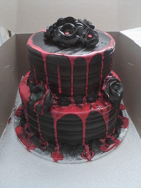 Macabre Birthday Cakes