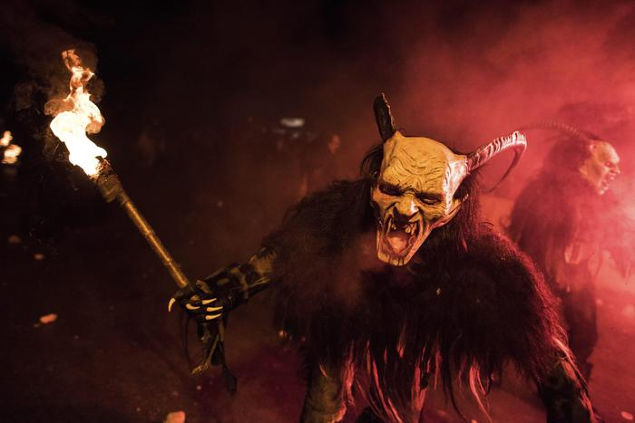 Krampuslauf March of the Christmas Demons! | CVLT Nation