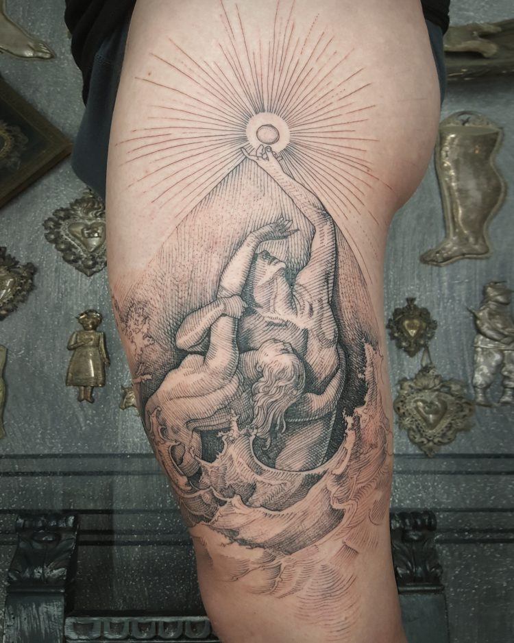 the grace of etching  a chat with tattoo master marco c