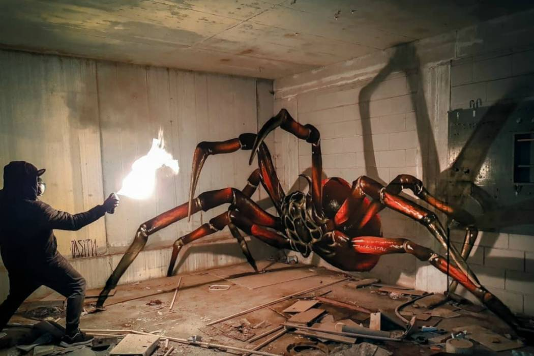 the hyper realistic graffiti of odeith